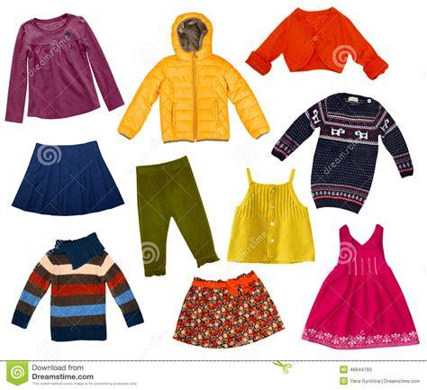 imagenes de ropas collage moderno de la ropa de los ni 241 os aislado imagen de
