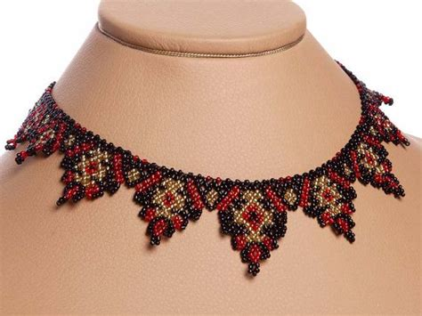 ukrainian beaded necklaces modern ukrainian folk handmade beaded necklace gerdan