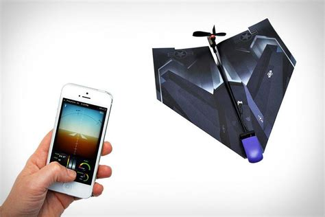 How To Make Paper Gadgets - iphone controlled paper airplane the coolest