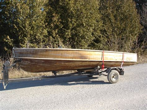old boat and trailer restored tee nee boat trailers autos post