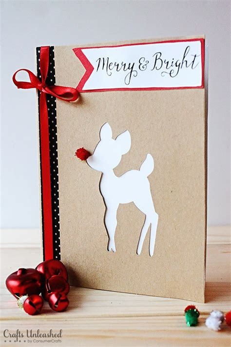 printable christmas cards diy diy christmas cards merry bright crafts unleashed