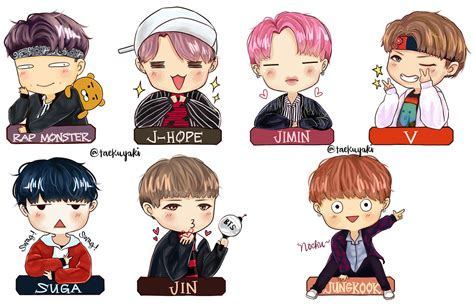 bts anime pictures chibi bts day pictures to pin on pinsdaddy