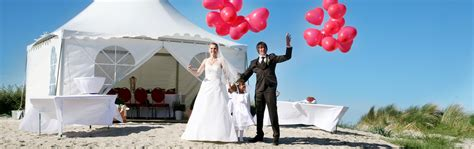 Heiraten Am Strand by Heiraten In Ostfrieslands Hochzeit An Der Nordsee