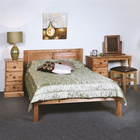 Pine Bed Frame King Size Solid Pine Bed Frame 5ft King Size All Sizes Available The Lichfield Panel