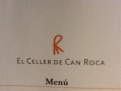 el celler de can 849389107x the menu picture of el celler de can roca girona tripadvisor