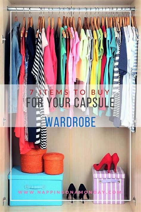 Buy A Capsule Wardrobe by 7 Items To Buy For Your Capsule Wardrobe Style Living