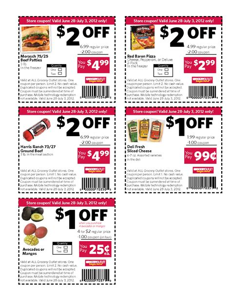 latest printable grocery coupons coupon list template tolg jcmanagement co