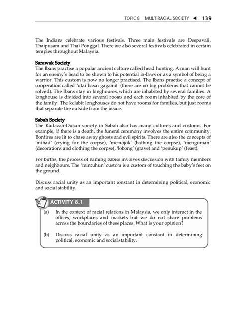 Multiracial Society Essay by Topic 8 Multiracial Society