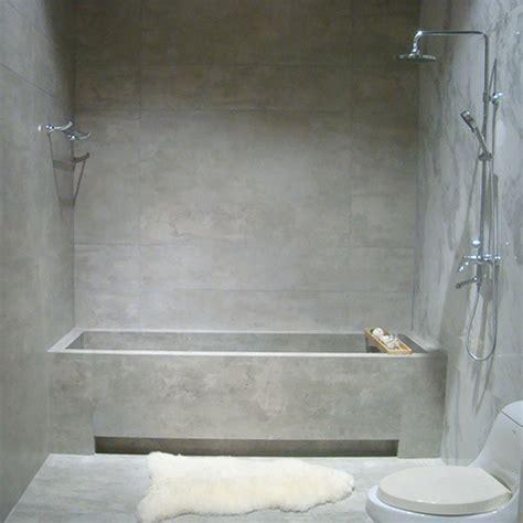 Light grey concrete look tiles for walls amp floors