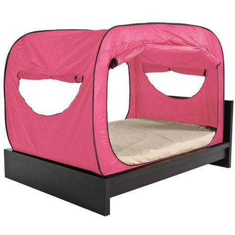privacy pop up bed tent privacy pop tent full pink