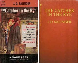 catcher in the rye movie theme i can write funny things that pissed me off today