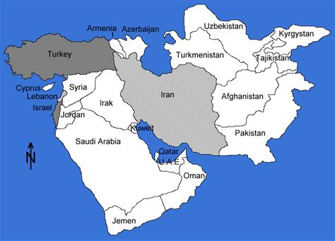 middle east map turkey maps middle east