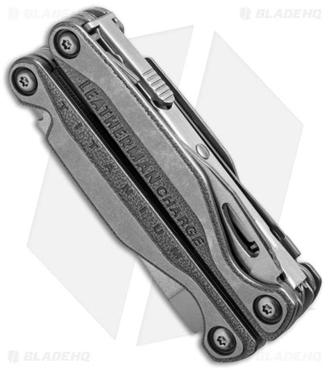 titanium leatherman leatherman charge tti multi tool w bit kit titanium