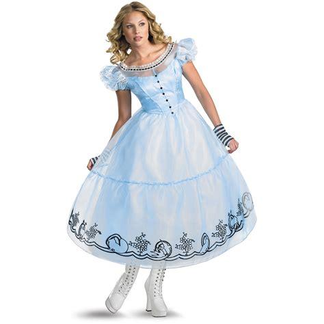 alice in wonderland costume alice in wonderland costumes alice in wonderland movie deluxe alice adult costume