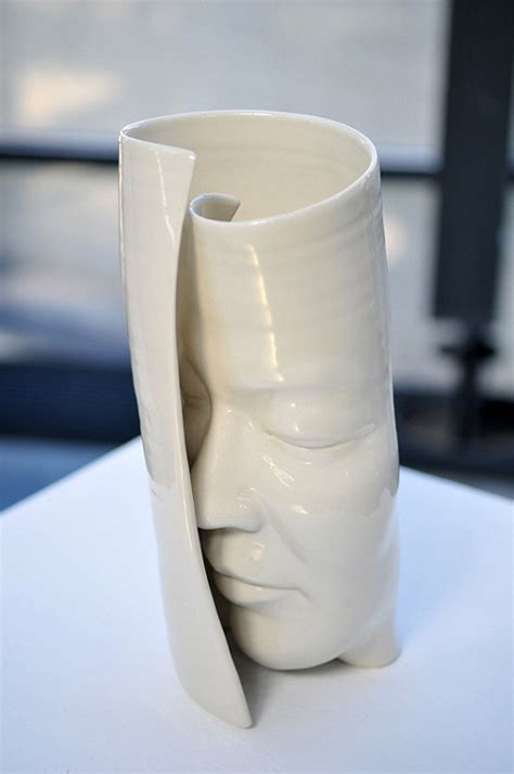 contemporary ceramic sculpture artists dynamic pottery sculptures by honk kong based artist