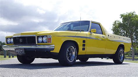 Home Garage Design 1975 hj sandman ute seven82motors