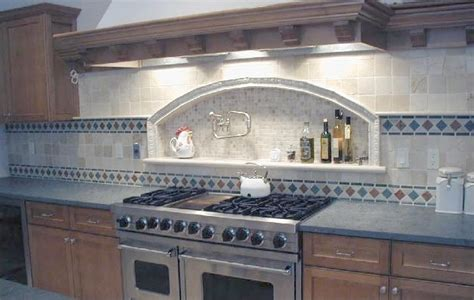 marble backsplash kitchen kitchen remodel designs tumbled marble backsplash