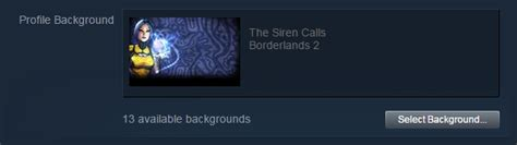 how to get a background on steam how to set background for a steam profile arqade