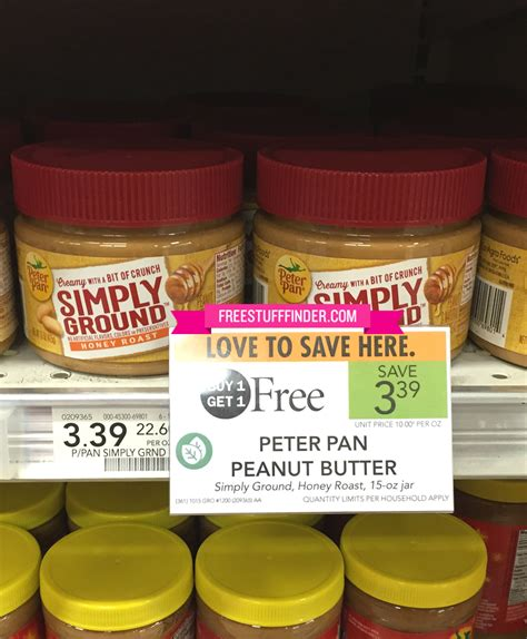 Csh Ss Peterpan publix weekly freebies deals 1 27 2 2 or 1 28 2 3