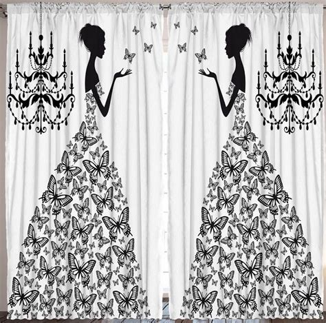 dresses with drapes butterfly dress curtain panel set ball wedding gown woman