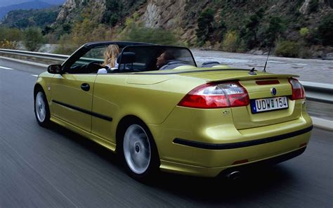 saab 9 3 convertible car interior design