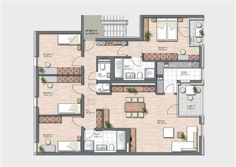 Wohnung 85 Qm Grundriss by Grundrisse Und Pl 228 Ne Vom Bauvorhaben Lao Leben Am Ostpark