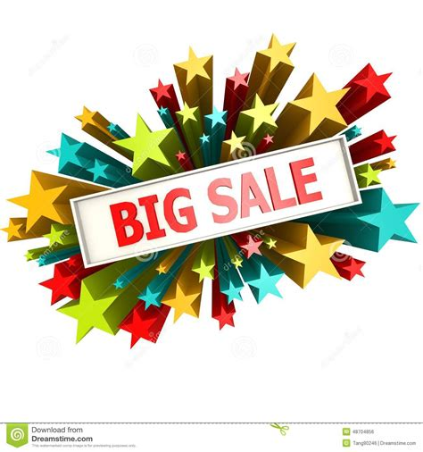 big sale banner stock illustration image of discount 48704856