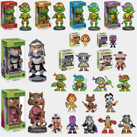 Funko Mystery Minis Mutant Turtles Raphael funko announces tons of new tmnt toys