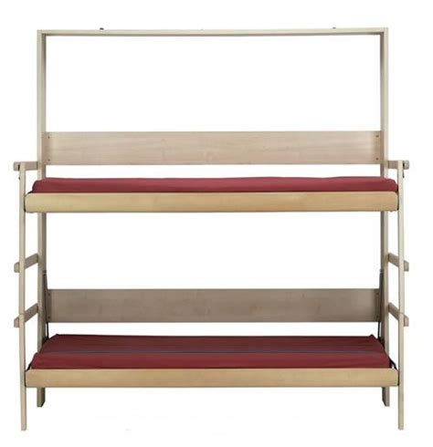 fold up bunk beds 10 cool murphy beds for decorating smaller rooms