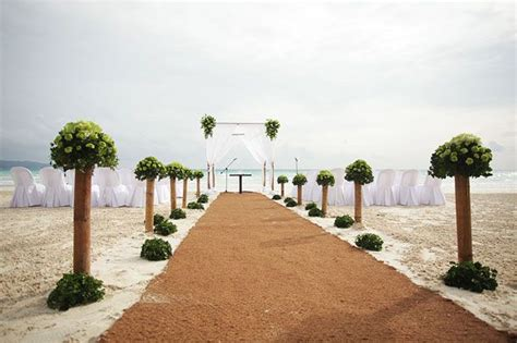 Wedding Blessing Philippines by Wedding Ceremony Setup At Discovery Shores Boracay