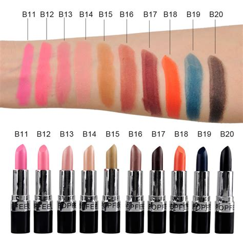 Color Matte Lip Gummy popfeel proof velvet matte lipstick waterproof