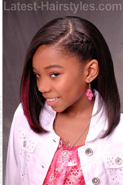 Hairstyles For Black Teenagers With Medium Hair by 20 Hairstyles For Black