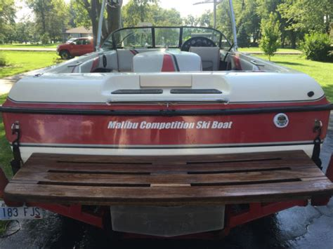 malibu boats for sale kansas 1995 malibu sunsetter wakeboard and ski boat for sale in