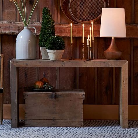 west elm console table emmerson reclaimed wood console west elm