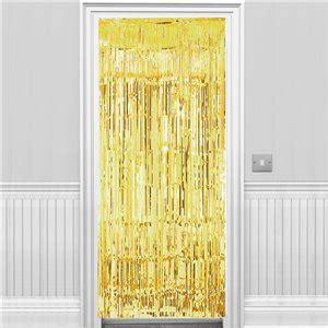 gold door curtain gold metallic fringed door curtain 2 4m
