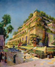 the hanging gardens of nineveh