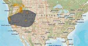 in california today map where are the fires in california map