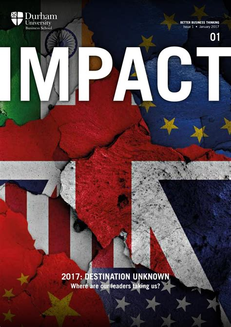 Durham Global Mba Ranking by Impact Magazine Issue 1 By Durham Business