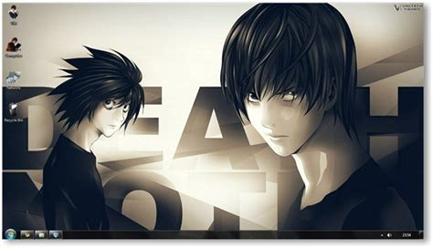 themes gallery com death note theme for windows 7 and windows 8