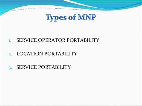 mobile portability mobile number portability