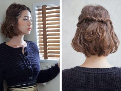cara mengikat rambut pendek 20 cara mengikat rambut yang simple dan cantik