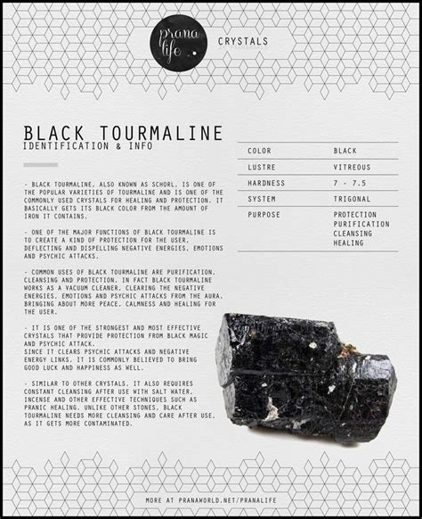 25 best ideas about black tourmaline on clear