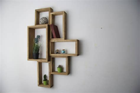 creative pallet wall shelves unit