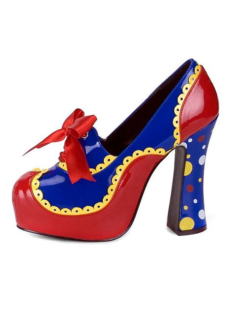 clown slippers circus clown platform shoes