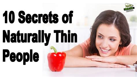 7 Secrets Of Naturally Slim by 10 Secrets Of Naturally Thin