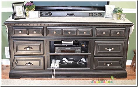 Tv Dressers by Diy Dresser To Tv Stand