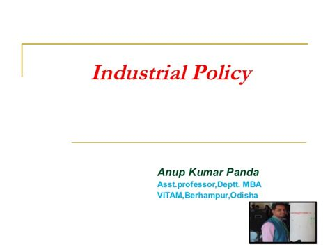 Industrial Relations Policies Mba Notes by Indusrial Policy