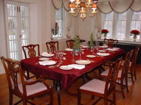 Formal Dining Table Decorating Ideas Large Formal Dining How To Set A Dining Room Table