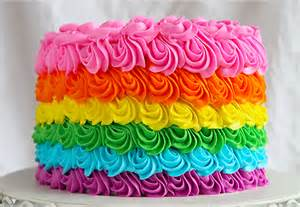 colorful cakes how to make a rainbow cake