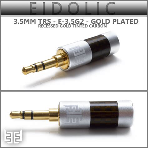 Asli Murah Diy 3 5mm Replacement Audio Oyaide L Shape new eidolic 3 5mm trs gold plated e 3 5g2 new